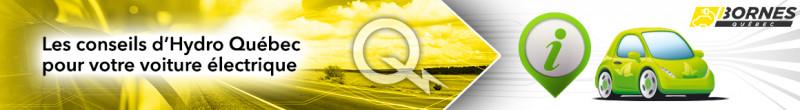 Les conseils d'Hydro Québec pour votre voiture électrique