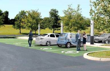 Avantages EVera™ Les bornes de recharge pour véhicules électriques de notre série Évolution sont spécialement conçues pour vos besoins